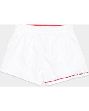 Men's HUGO Copacabana Swim Shorts White, White/White