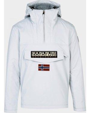 Men's Napapijri Rainforest Lightweight Jacket Grey, Grey/Grey