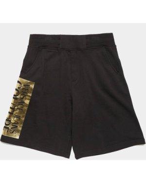 Men's Versace Jeans Couture Foil Square Shorts Black, Black