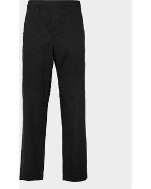 Men's Wood Wood Stanley Trousers Black, Black/Black
