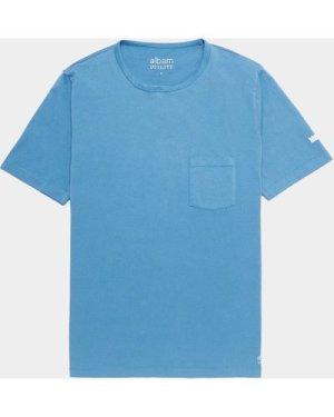 Men's Albam Short Sleeve Pocket T-Shirt Blue, BLU/BLU