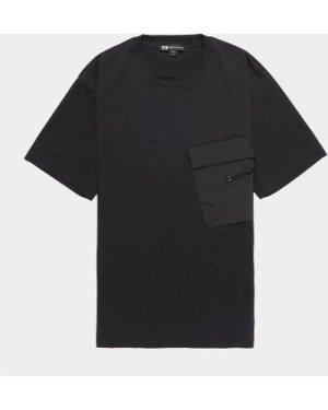 Men's Y-3 Travel Short Sleeve T-Shirt Black, Black