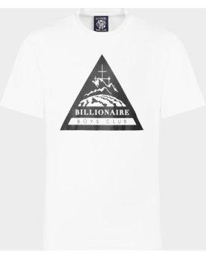 Men's Billionaire Boys Club Expedition Logo Short Sleeve T-Shirt White, White