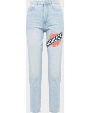 Women's Fiorucci Martini Tara Skinny Denim Jeans Blue, Blue