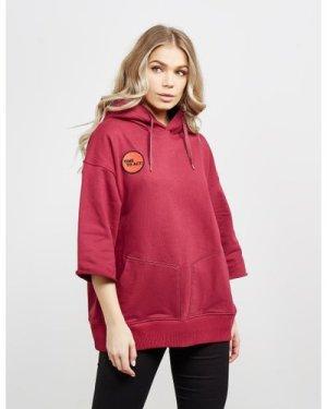 Women's Vivienne Westwood Rugged Short Sleeve Hoodie Red, Red