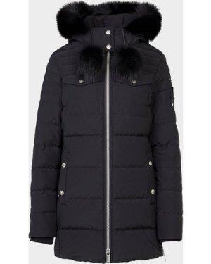 Women's Moose Knuckles Wychwood Jacket Black, Black