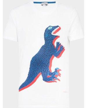 PS Paul Smith Dino Short Sleeve T-Shirt White, White