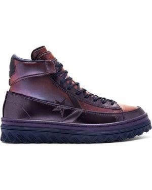 Metallic Vis Pro Leather X2 High Top