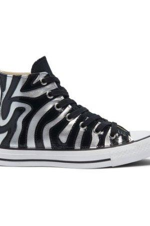 Metallic Zebra Chuck Taylor All Star High Top