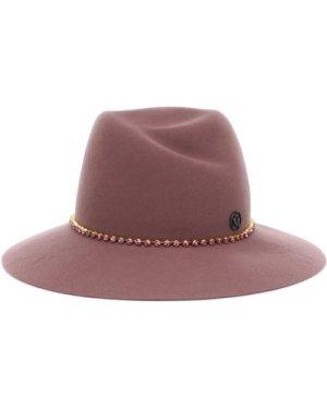 Maison Michel Virginie Fedora Hat (Size: M)