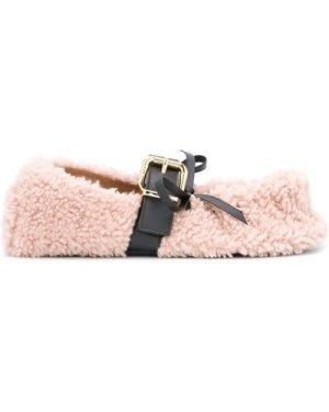 Marni Buckled strap ballerina (Size: 39)
