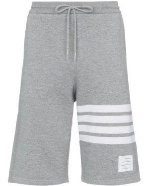 Thom Browne 4-bar sweat shorts (Size: 4)