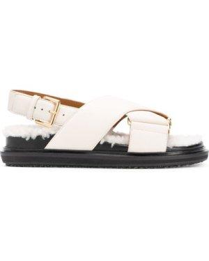 Marni Fussbett criss-cross sandals (Size: 36)