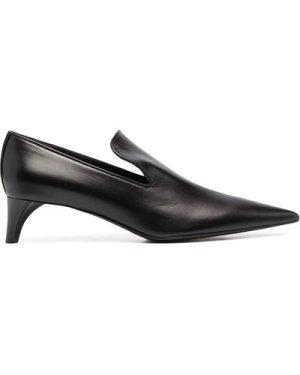 Jil Sander slanted heel pumps (Size: 355)