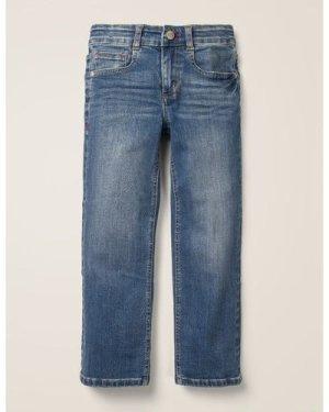 Adventure-flex Straight Jeans Denim Boys Boden, Denim