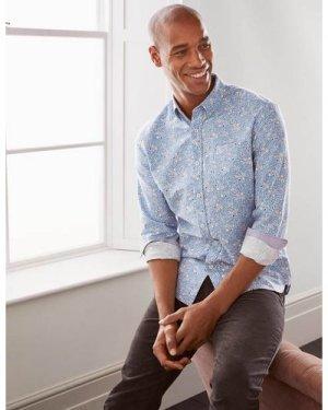 Modern Oxford Shirt Multi Men Boden, Multicouloured