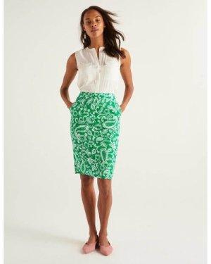 Gabriella Pencil Skirt Green Women Boden, Green