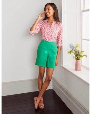 Danby Pull On Shorts Green Women Boden, Green