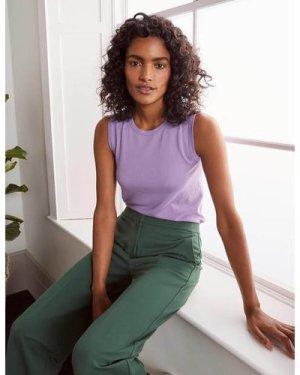 Favourite Knitted Tank Purple Women Boden, Purple
