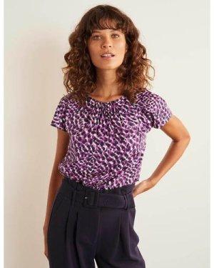 Florence Top Purple Boden, Purple