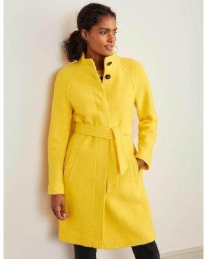 Cartwright Coat Yellow Women Boden, Yellow
