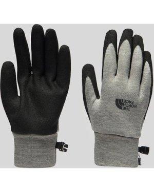 The North Face Etip Grip Gloves, Grey