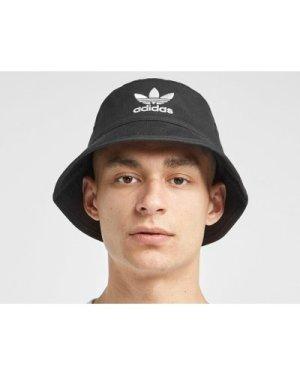 adidas Originals Trefoil Bucket Hat, Black/Black
