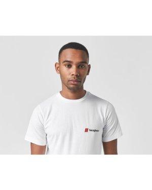 Berghaus Heritage Back Logo Short Sleeve T-Shirt, White/White