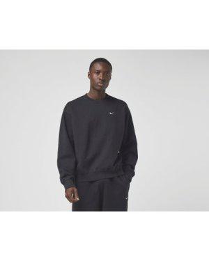 Nike NRG Premium Essential Crew Sweatshirt, Black