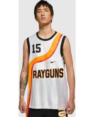 Nike Rayguns Basketball Jersey, White/WHT