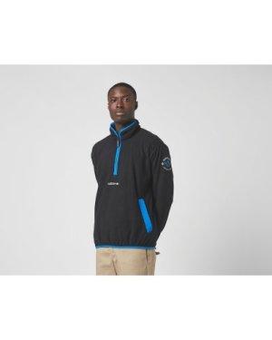 adidas Originals Adventure Half Zip Fleece, Black/BLK