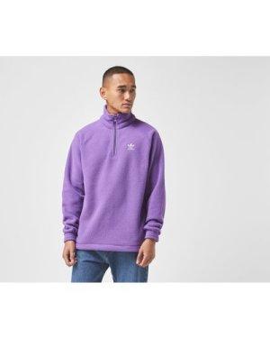 adidas Originals Adicolor Polar Fleece Half-Zip, Purple