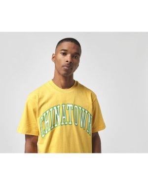 Chinatown Market UV Arch T-Shirt, Yellow/White