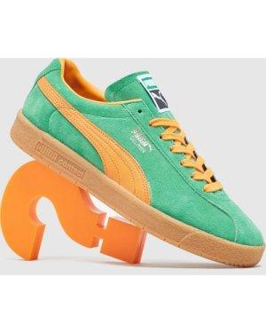 Puma Delphin OG, Green/Orange