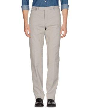 Armani Collezioni Light Grey Cotton Trousers