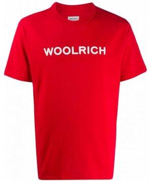 Woolrich WOOLRICH MEN'S WOTE0024MRUT14865405 RED COTTON T-SHIRT