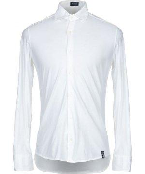 Drumohr Ivory Cotton Shirt