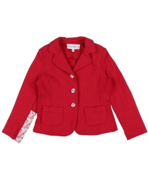 Simonetta SUITS AND JACKETS Red Girl Cotton
