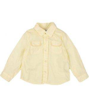 Peuterey SHIRTS Yellow Boy Cotton