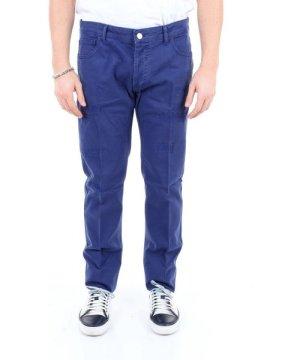 Entre Amis ENTRE AMIS MEN'S PP188212449L353BLUETTE BLUE COTTON PANTS