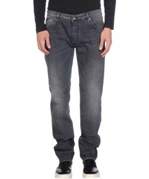 Gas Black Cotton Jeans