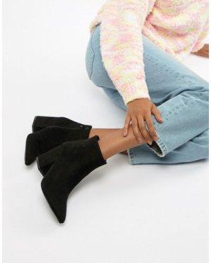 RAID Kola Black Ankle Boots