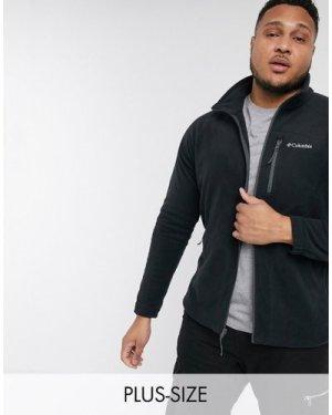 Columbia Plus Fast Trek full zip fleece in black
