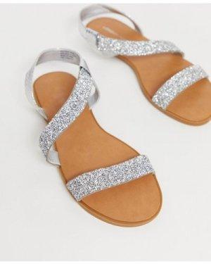 London Rebel embellished sandals-Beige