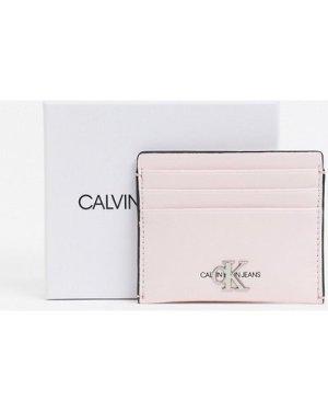 Calvin Klein Jeans card case in light pink