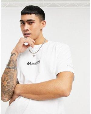 Columbia CSC Basic logo Retro t-shirt in white