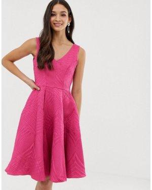Closet full skirt lined dress-Pink