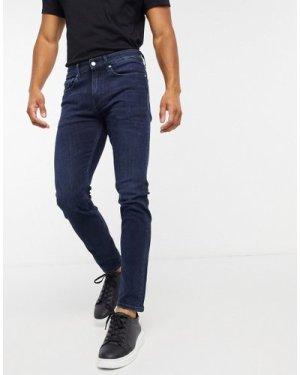 Calvin Klein Jeans skinny fit jeans in dark wash-Blue