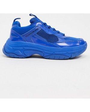 Calvin Klein Jeans Mavin chunky trainers-Blue