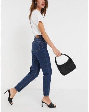 Object Vinnie mom jeans in dark blue